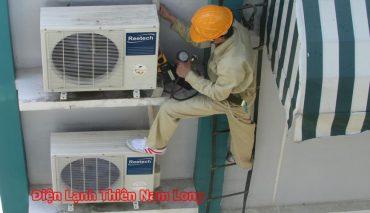 Sửa chữa máy lạnh các quận tận nơi nhanh tại tphcm