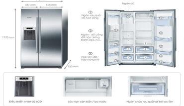 Trung Tâm Bảo Hành Tủ Lạnh Side By Side tại Tphcm